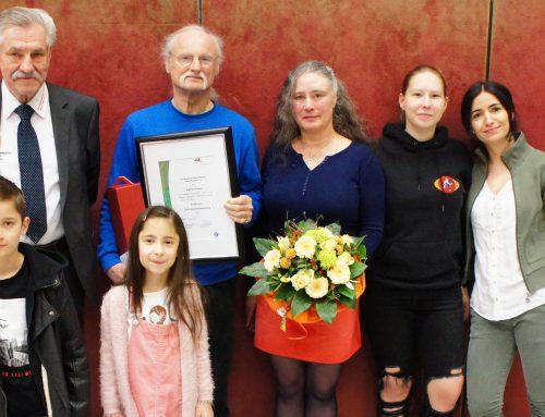 Große Ehre für Judoka Siggi Preuß