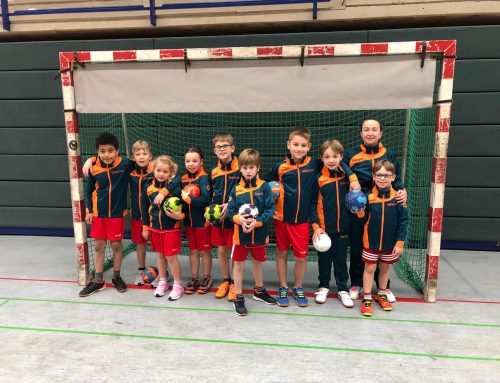 F-Jugend der Handballabteilung erfolgreich